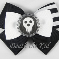 Death the Kid ( Soul Eater ) Hair Bow