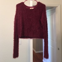 Hollister fuzzy sweater ( SO SOFT!!)