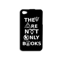 Black Cute Quote Harry Potter Phone Case iPhone iPod Cover White Cool Book Movie