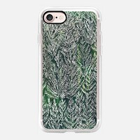 Snow Pines (Light Green) iPhone 7 Case by Kanika Mathur | Casetify