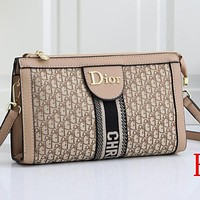 Dior Fashion Sells Bellows Women's Pure Purse Handbags #5 Cosmetic bag shoulder bag messenger bag