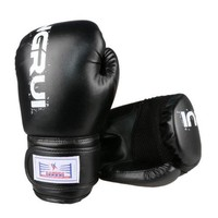 Boxing Gloves Punch Bag Gloves Wear Resistant black