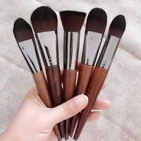 BBL 1 Piece Flat Top Kabuki Foundation Cosmetic Makeup Brushes Premium Make Up Brush for Liquid Cream Face Brush Best Choice