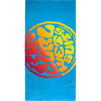 Rip Curl Wettie Brights Towel Blue One Size For Men 22926520001