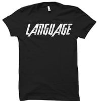 "MARVEL Avengers Age of Ultron - Captain America ""LANGUAGE"" Tee Shirt"
