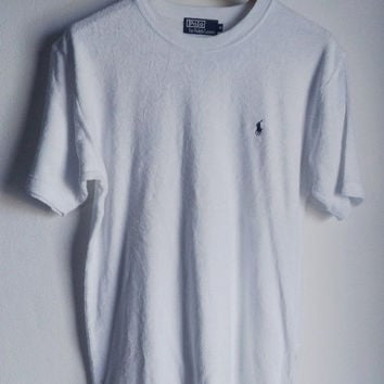 ON SALE 25% Vintage Polo Sport Ralph Lauren  T-Shirt Medium