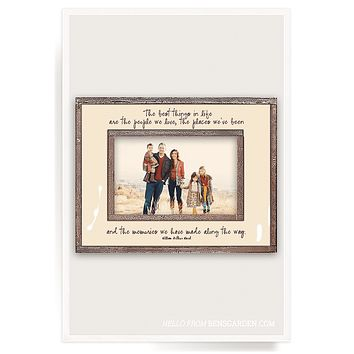 The Best Things In Life Copper & Glass Photo Frame