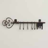 Antique Bronze Iron Key Hook | World Market