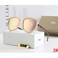 DIOR Hot Sale Casual Summer Sun Shades Eyeglasses Glasses Sunglasses 2#