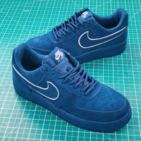 Nike Air Force 1 Af1 07 Lv8 Suede Blue | Aa1117-400 Sport Shoes - Best Online Sale