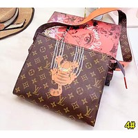 Louis Vuitton LV Fashion Women Leather Cute Cartoon Print Shoulder Bag Crossbody Satchel 4#