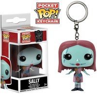 Funko Pop Pocket Sally Keychain Nightmare Before Christmas
