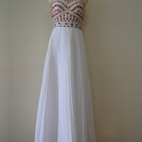 Stunning A-line Chiffon Sweetheart Floor Length Prom/Graduation Dress