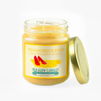 Yellow Brick Road - Wizard of Oz Inspired Scented Soy Candle