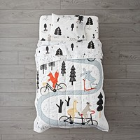 Forest Friends Toddler Bedding