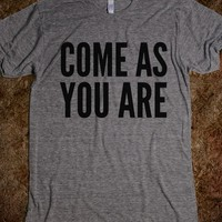 COME AS YOU ARE T-SHIRT (IDB821708)