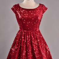 Sparkle and Twang Sequin Dress - Bliss Salon and Boutique