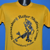 80s Stroudsburg Roller Skating Camp t-shirt Small