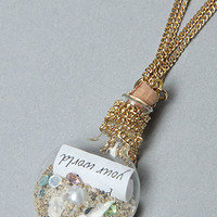 The Little Mermaid Collection Message in the Bottle Necklace : Disney Couture Jewelry : Karmaloop.com - Global Concrete Culture