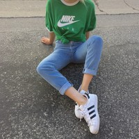 Vintage Unisex Nike Air Ringer Tee - XS/S/M/L   Butterface