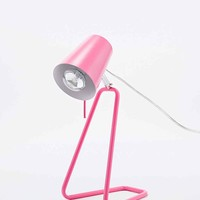 Z Table Lamp UK Plug in Pink - Urban Outfitters