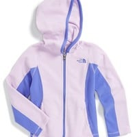 The North Face Girl's 'Glacier' Full Zip Hoodie,