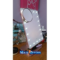 New LED Bluetooth Speaker Makeup Mirror  vanity