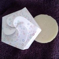 Luxury soap bar with organic shea butter. Buy natural soap as Christmas gift