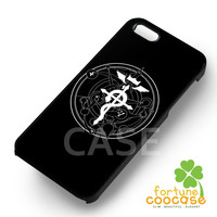 FMA anime fullmetal alchemist transmutation symbol -sa4r for iPhone 6S case, iPhone 5s case, iPhone 6 case, iPhone 4S, Samsung S6 Edge