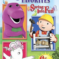 Childrens Favorites-Spring Into Fun (Dvd) Nla!