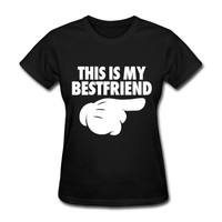 This Is My Bestfriend (Pointing Right) T-Shirt