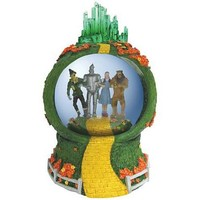 Wizard of Oz Follow the Yellow Brick Road Water Globe - Westland Giftware - Wizard of Oz - Snow Globes at Entertainment Earth