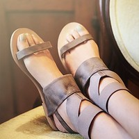 Free People Womens Surreal Stretch Sandal