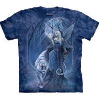 EVANESCENCE White Tiger Fairy Forest Angel Queen The Mountain T-Shirt S-3XL NEW
