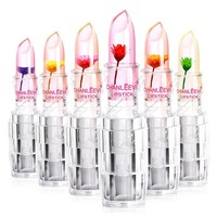 Transparent Make-up Flowers Lip Stick [10975214028]