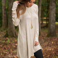 Simple And Free Tunic, Oatmeal