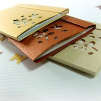 Falling Leaves in Autumn - Matchbooks Notepads - Set of 3