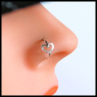 Nose Ring / Argentium Silver  Tarnish Resistant / by RockYourNose