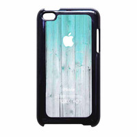 Wood Mint Apple iPod Touch 4th Generation Case