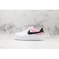 Nike Air Force 1 SAGE LOW LX White/ Pink/ Black Sneakers