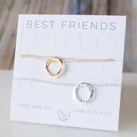 Best Friend Necklace Set For Two