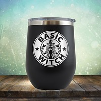 Basic Witch - Stemless Wine Cup
