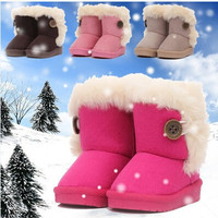 Girls Thick Winter Boots