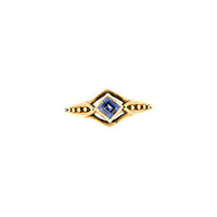 Doyle & Doyle   Ring: Arts & Crafts Period Sapphire Ring