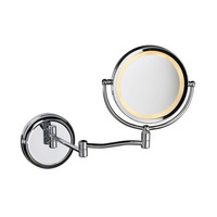Lighted Magnifier Mirror