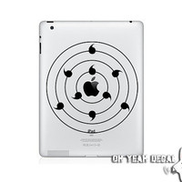 NARUTO RINNEGAN ipad sticker Decal for Ipad Stickers ipad skin ipad cover Macbook Decals Apple Decal