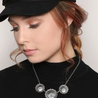 SWEPT AWAY CONCHO NECKLACE