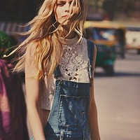 Free People Womens Greatest Hits Crop Top -