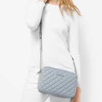 Jet Set Travel Large Quilted-Leather Crossbody | Michael Kors