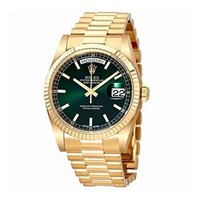Rolex Day Date Champagne Dial Automatic Yellow Gold Automatic Watch